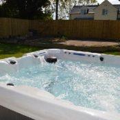 romney house hot tub