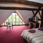 oak bedroom
